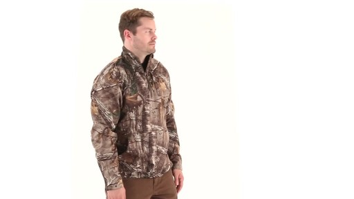 Guide Gear Men's Scent Control Quarter-Zip Pullover 360 View - image 1 from the video