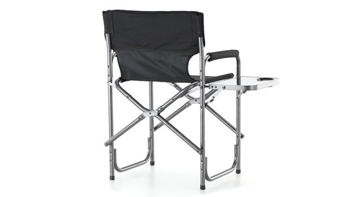 Guide Gear Oversized Mossy Oak Break-Up COUNTRY Camo Tall Director's Chair 500 lb. Capacity 360 View - image 7 from the video