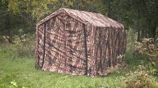 Guide Gear Camo Hunting Shed - image 1 from the video