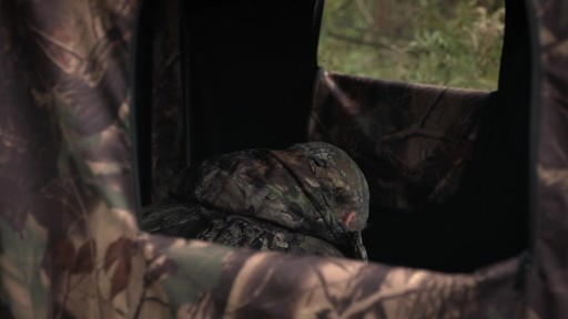Guide Gear Camo Hunting Shed - image 8 from the video