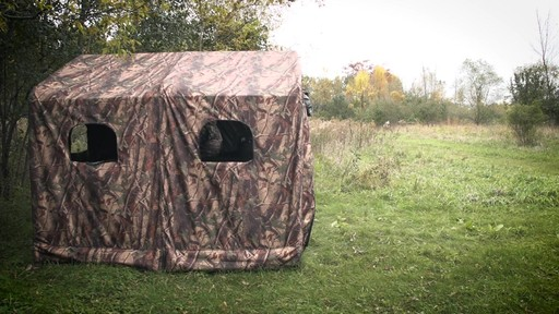 Guide Gear Camo Hunting Shed - image 9 from the video