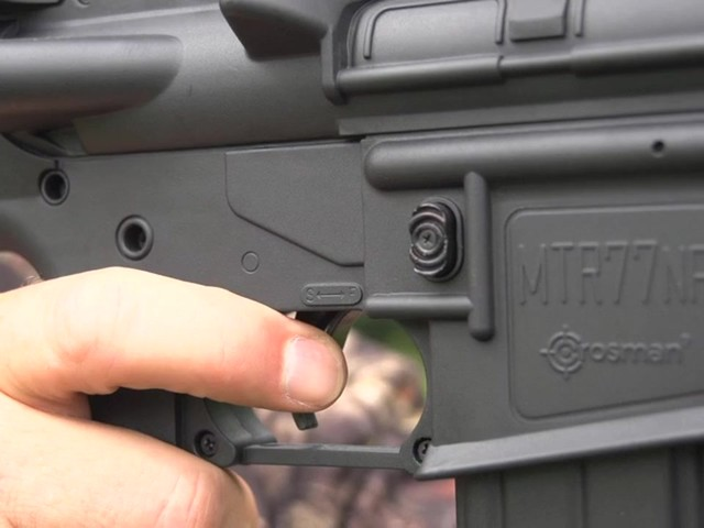 Crosman® Nitro Piston® MTR77™ Air Gun with 4x32mm Scope - image 6 from the video