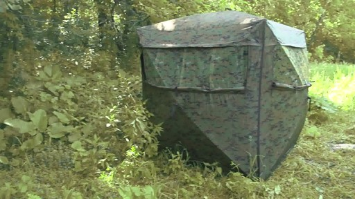 Guide Gear Deluxe 5-hub Digital Camo Blind - image 10 from the video