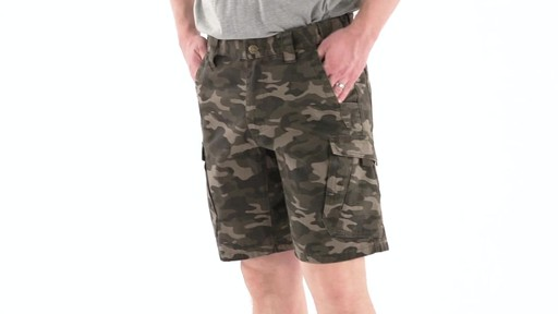 Guide Gear Men's Ripstop Cargo Shorts 360 VIew - image 6 from the video
