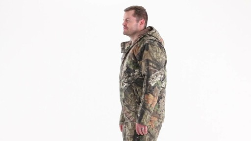 Guide Gear Men's Insulated Silent Adrenaline Hunting Jacket 360 View - image 6 from the video