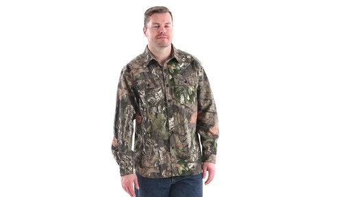 Guide Gear Men's Button-Down Hunting Shirt 360 View - image 1 from the video