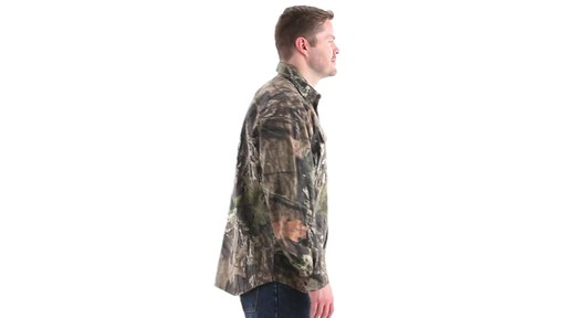Guide Gear Men's Button-Down Hunting Shirt 360 View - image 3 from the video