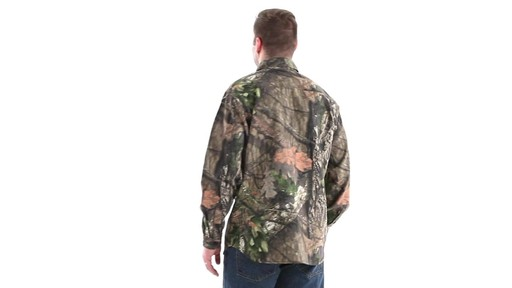 Guide Gear Men's Button-Down Hunting Shirt 360 View - image 6 from the video
