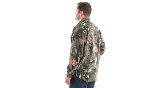 Guide Gear Men's Button-Down Hunting Shirt 360 View - image 7 from the video