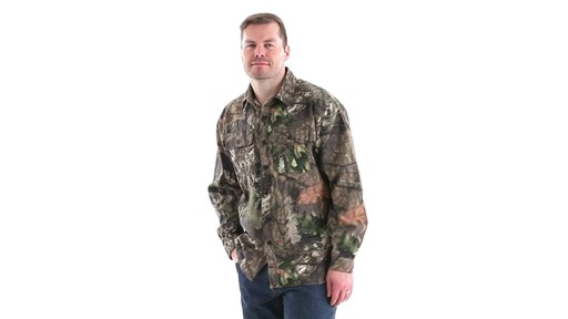 Guide Gear Men's Button-Down Hunting Shirt 360 View - image 9 from the video