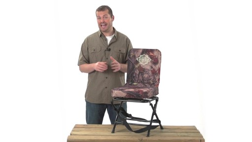Guide Gear Swivel Hunting Chair Black - image 1 from the video