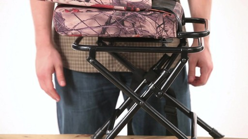 Guide Gear Swivel Hunting Chair Black - image 8 from the video