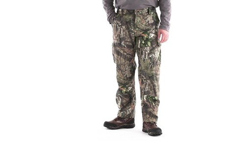 Guide Gear Men's 6-Pocket Hunting Pants 360 View - image 10 from the video