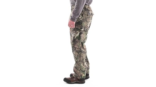 Guide Gear Men's 6-Pocket Hunting Pants 360 View - image 8 from the video