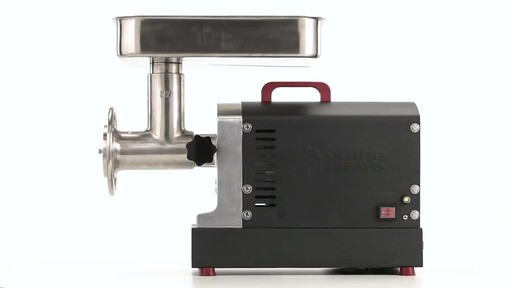 Guide Gear Series #22 Electric Commercial Grade Meat Grinder 1 HP 360 View - image 10 from the video