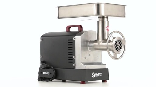 Guide Gear Series #22 Electric Commercial Grade Meat Grinder 1 HP 360 View - image 3 from the video