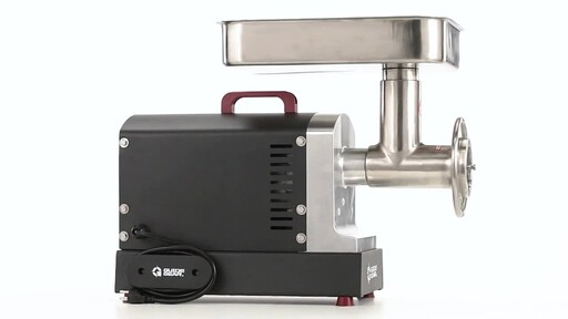 Guide Gear Series #22 Electric Commercial Grade Meat Grinder 1 HP 360 View - image 4 from the video