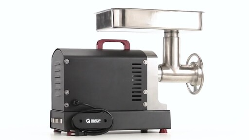 Guide Gear Series #22 Electric Commercial Grade Meat Grinder 1 HP 360 View - image 5 from the video