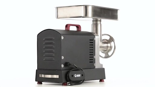 Guide Gear Series #22 Electric Commercial Grade Meat Grinder 1 HP 360 View - image 6 from the video