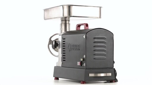 Guide Gear Series #22 Electric Commercial Grade Meat Grinder 1 HP 360 View - image 8 from the video