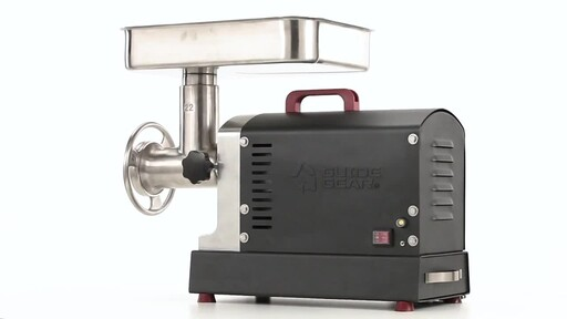 Guide Gear Series #22 Electric Commercial Grade Meat Grinder 1 HP 360 View - image 9 from the video