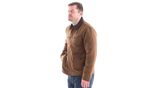 Guide Gear Men's Drover Jacket 360 View - image 6 from the video