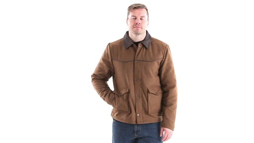 Guide Gear Men's Drover Jacket 360 View - image 7 from the video