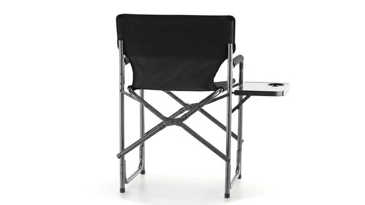 Guide Gear Oversized Tall Directors Chair Blue 500-lb. Capacity 360 View - image 5 from the video