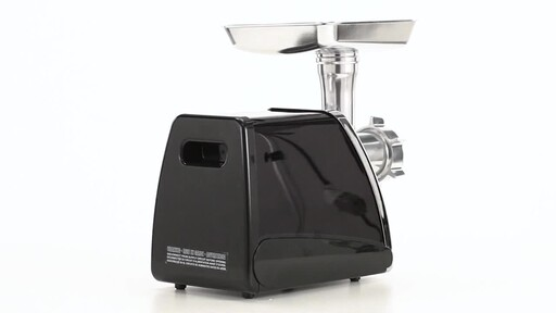 HuntRite #12 Electric Meat Grinder 0.75 HP 360 View - image 6 from the video