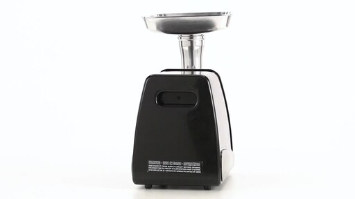 HuntRite #12 Electric Meat Grinder 0.75 HP 360 View - image 7 from the video
