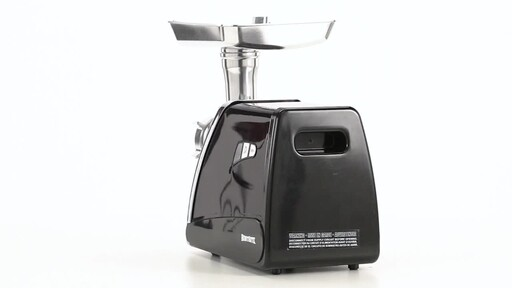 HuntRite #12 Electric Meat Grinder 0.75 HP 360 View - image 8 from the video