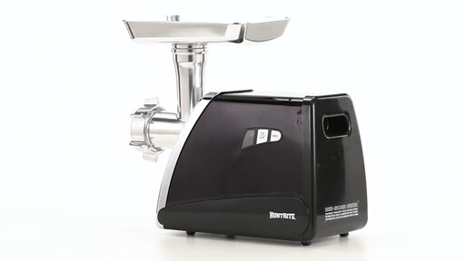HuntRite #12 Electric Meat Grinder 0.75 HP 360 View - image 9 from the video
