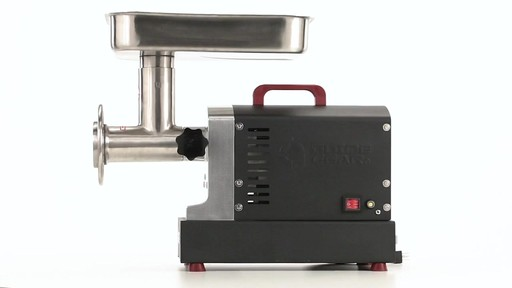 Guide Gear Series #12 Commercial Grade Electric Meat Grinder .75 HP 360 View - image 10 from the video