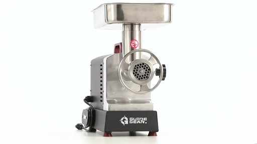 Guide Gear Series #12 Commercial Grade Electric Meat Grinder .75 HP 360 View - image 2 from the video