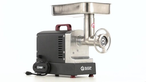 Guide Gear Series #12 Commercial Grade Electric Meat Grinder .75 HP 360 View - image 3 from the video