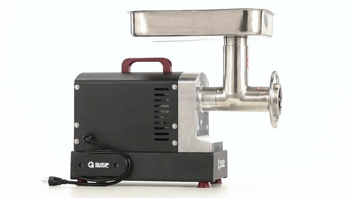 Guide Gear Series #12 Commercial Grade Electric Meat Grinder .75 HP 360 View - image 4 from the video