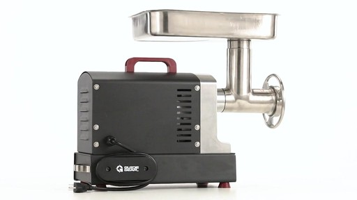 Guide Gear Series #12 Commercial Grade Electric Meat Grinder .75 HP 360 View - image 5 from the video