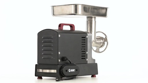 Guide Gear Series #12 Commercial Grade Electric Meat Grinder .75 HP 360 View - image 6 from the video