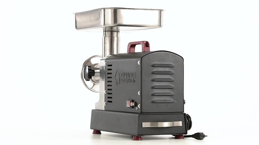 Guide Gear Series #12 Commercial Grade Electric Meat Grinder .75 HP 360 View - image 8 from the video