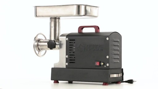 Guide Gear Series #12 Commercial Grade Electric Meat Grinder .75 HP 360 View - image 9 from the video