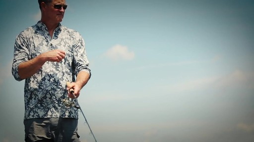 Guide Gear Men's Performance Fishing Pullover Shirt Quarter Zip - image 3 from the video