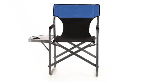 Guide Gear Oversized Directors Chair 500 lb. Capacity 360 View - image 1 from the video