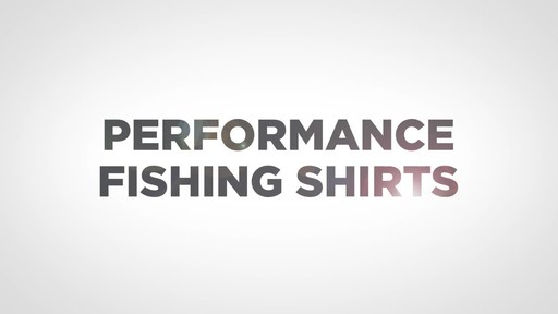 Guide Gear Men's Performance Fishing Long Sleeve Shirt Mossy Oak Elements Agua - image 1 from the video