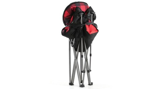 Guide Gear Oversized Club Camp Chair 500-lb. Capacity 360 View - image 10 from the video