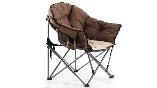 Guide Gear Oversized Club Camp Chair 500-lb. Capacity 360 View - image 2 from the video