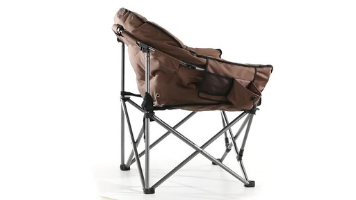 Guide Gear Oversized Club Camp Chair 500-lb. Capacity 360 View - image 3 from the video