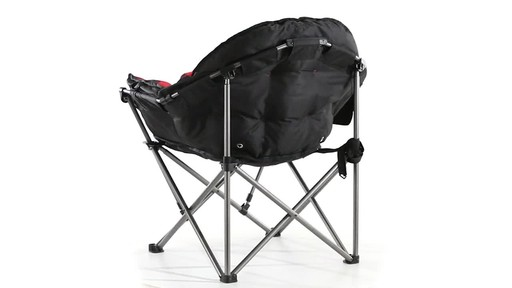 Guide Gear Oversized Club Camp Chair 500-lb. Capacity 360 View - image 5 from the video