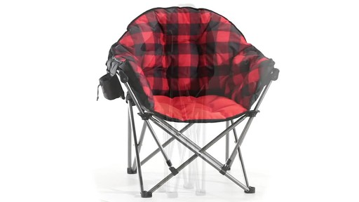 Guide Gear Oversized Club Camp Chair 500-lb. Capacity 360 View - image 8 from the video