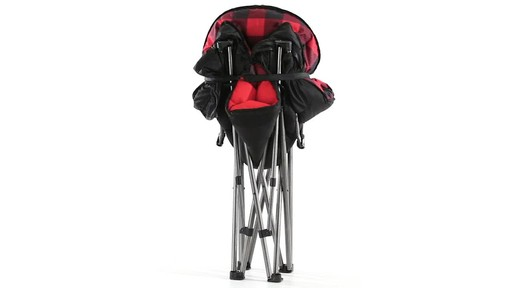 Guide Gear Oversized Club Camp Chair 500-lb. Capacity 360 View - image 9 from the video