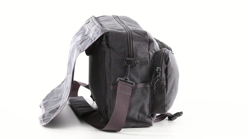 U.S. Military Surplus Tactical Range Bag 360 View - image 8 from the video